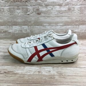 Onitsuka Tiger Ultimate 81 Mens 12 White Red Blue